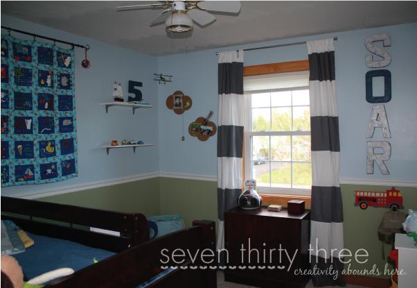 Travel Themed Boy's Room