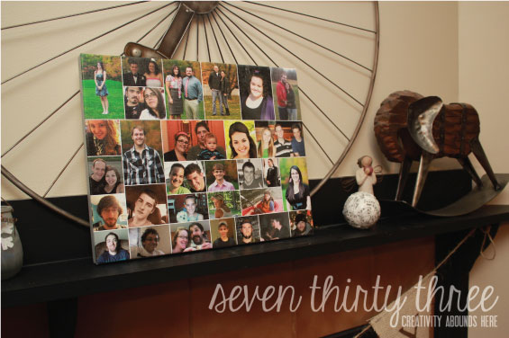 Collage Canvas Print and a Giveaway!