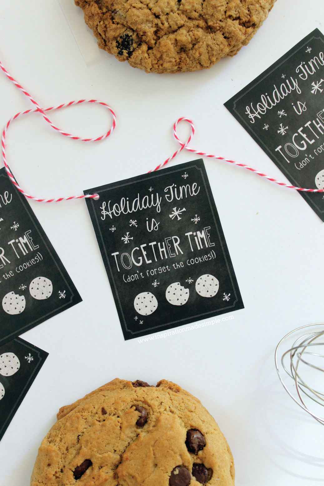 Holiday Cookie Exchange Gift Tags