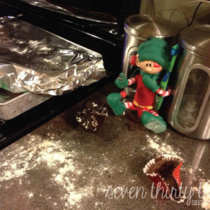 What our Shelf Elf has been up to…