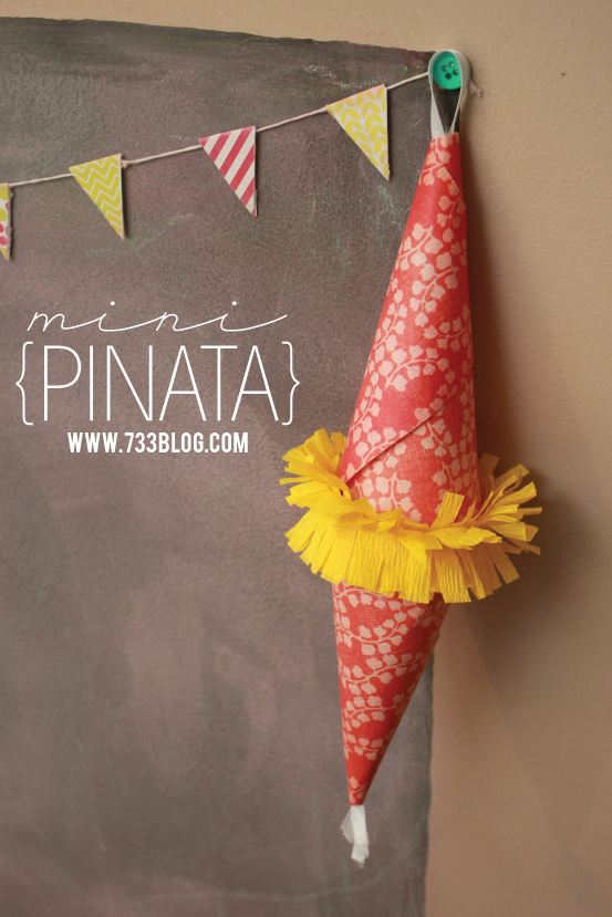 Mini Gift Pinata - fun way to give money and other small trinkets!