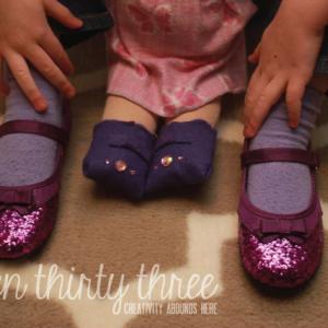 DIY Felt Doll SHoes
