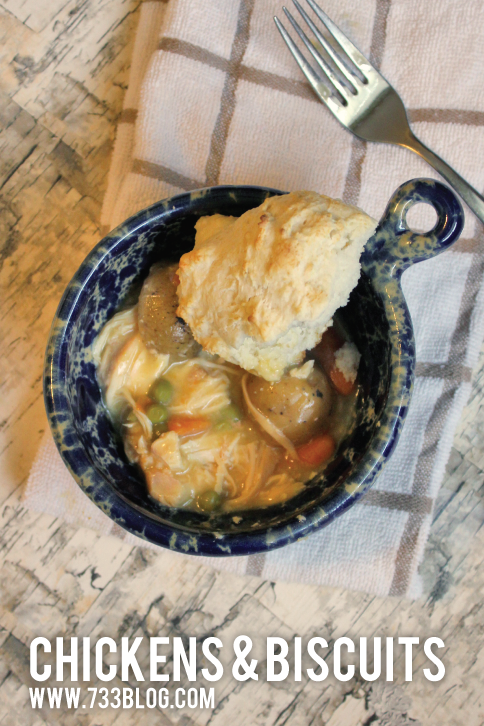 Crock Pot Chicken and Biscuits