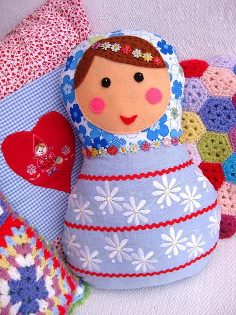 Stuffed Nesting Doll