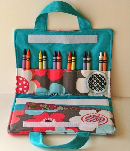 Coloring Book/Crayon Bag