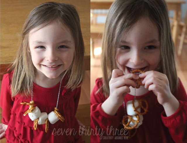 Inexpensive Snack Necklaces!