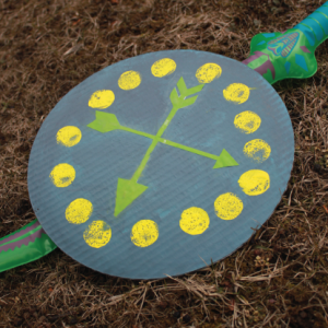 Simple Cardboard Knights Shield for Kids