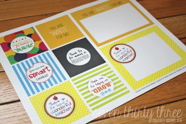 Teacher Appreciation Free Printables Inspiration Made Simple