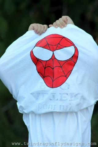 Spiderman Flip Shirt