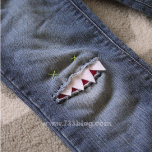 Pinterest Find – Monster Knee Patch