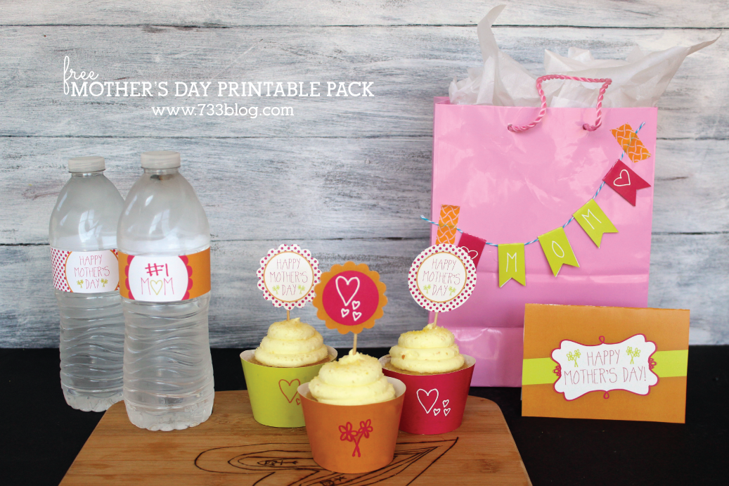 Free Mother's Day Printable Party Pack