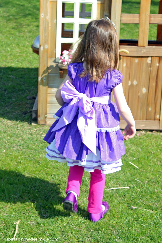 Custom Princess Dress