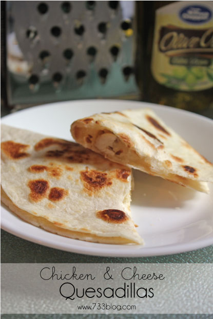 Easy Chicken and Cheese Quesadillas Recipe - Delicious family dinner in minutes!