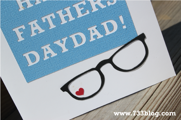 Happy Father's Day Card's {with Free Silhouette Downloads}