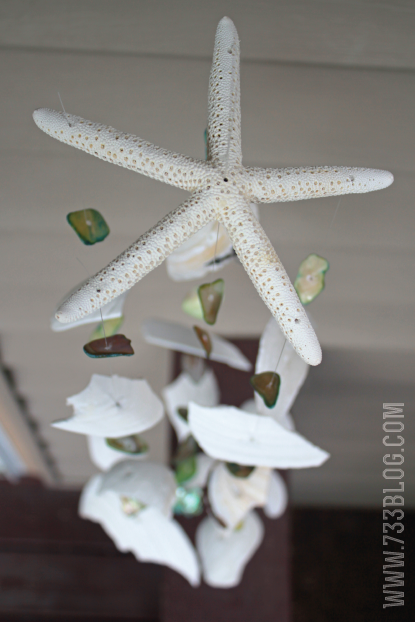 Seashell Wind Chimes Tutorial