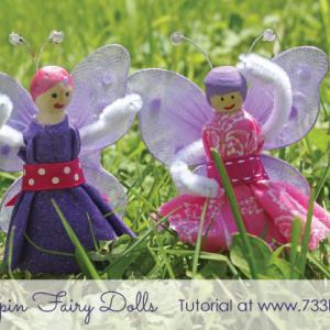 Clothespin Fairy