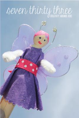 DIY Clothespin Fairy Doll