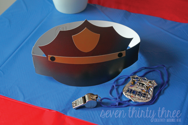 Police Themed Birthday Party - Inspiration Made Simple