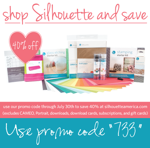 40% Off Silhouette Consumables (July Promo)