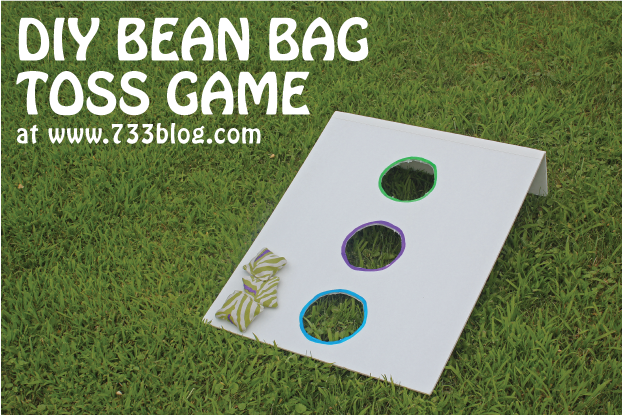 DIY Bean Bag Toss Game