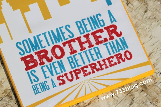 Superhero Canvas Wall Art {Free Printables}