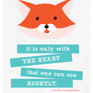 The Clever Fox {Free Printables & Wallpaper iPhone Paper}