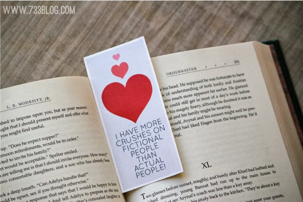 Mark Your Page – Free Bookmark Download