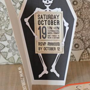 Printable Halloween Bash Invites