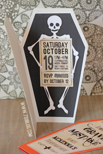 Printable Halloween Bash Invites