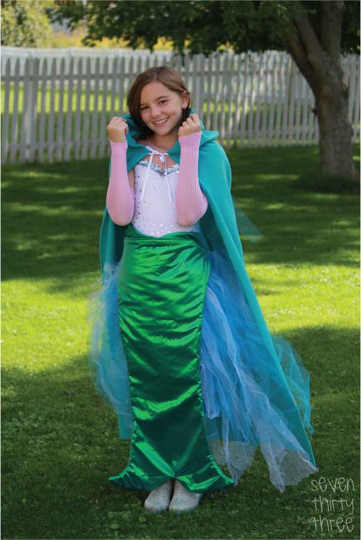 Diy mermaid costume inspiration made simple diy mermaid costume solutioingenieria Choice Image