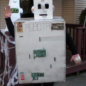 DIY Female Robot Costume