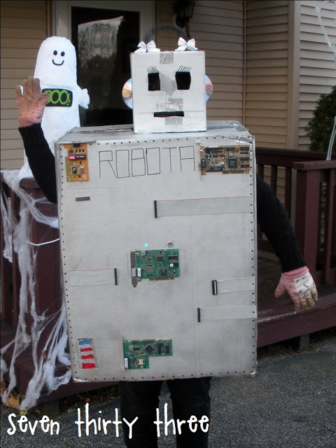 DIY Female Robot Costume