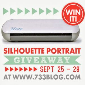 Silhouette Promotion and a Giveaway!