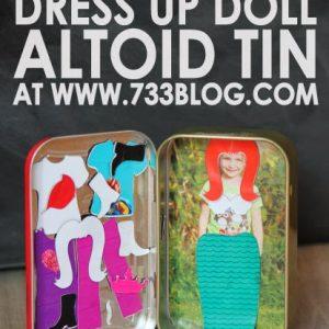 DIY Magnet Dress Up Doll