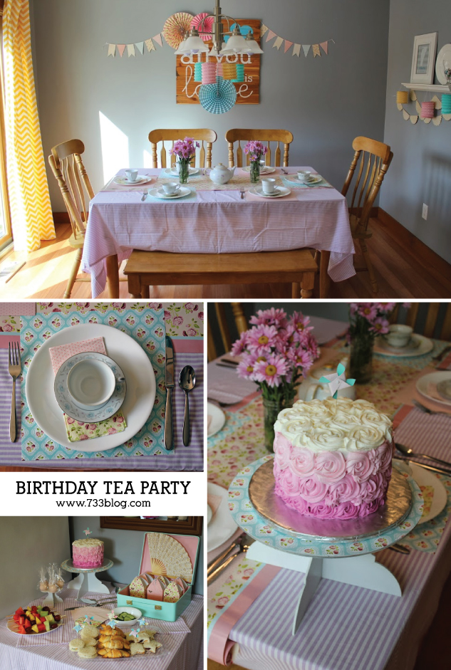 DIY Birthday Tea Party