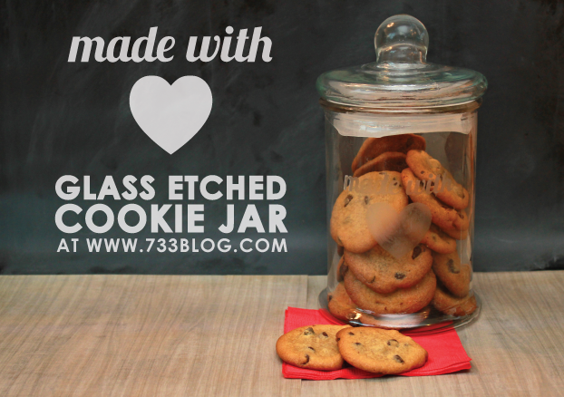Made with Love Cookie Jar