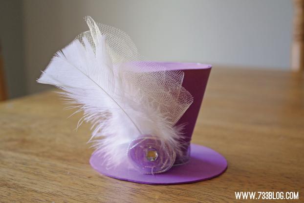 Mini Foam Top Hat Tutorial - Inspiration Made Simple