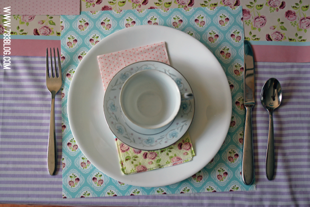 DIY Tea Party Place Setting