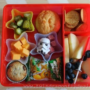 Star Wars Bento Lunch Idea