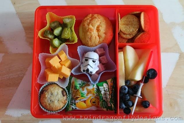 Star Wars Bento Lunch Idea