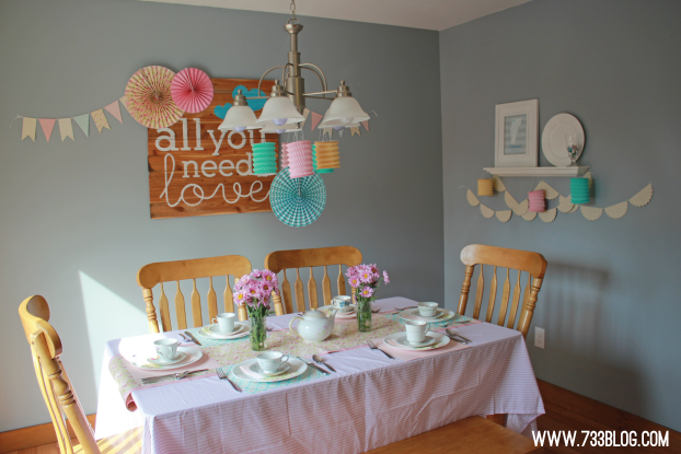 DIY Tea Party for Tweens