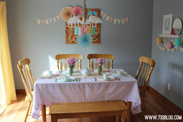 A Tea Party Birthday