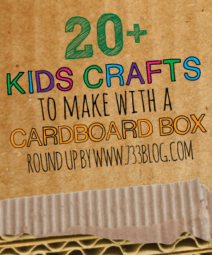 Kids Crafts To Make With A Cardboard Box Inspiration Made Simple