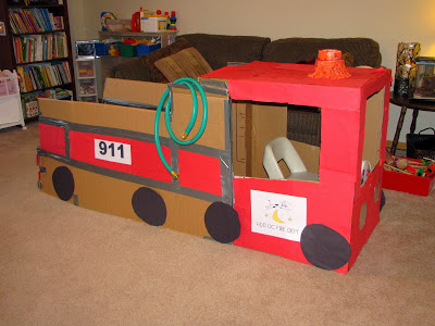Kids Crafts to make with a Cardboard Box