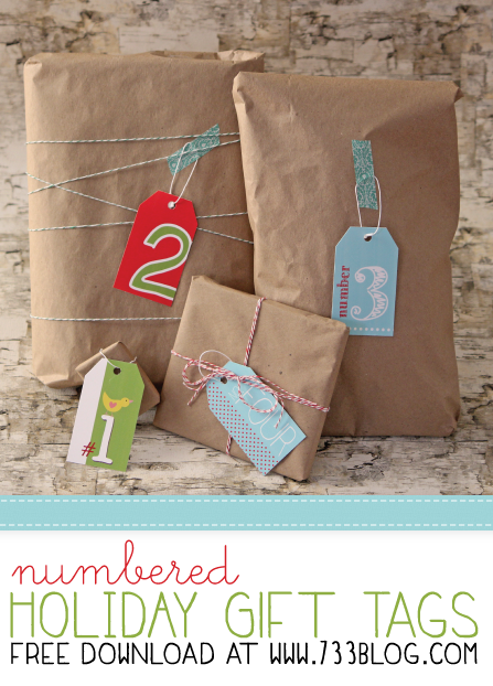 Gift Tags with Avery Labels