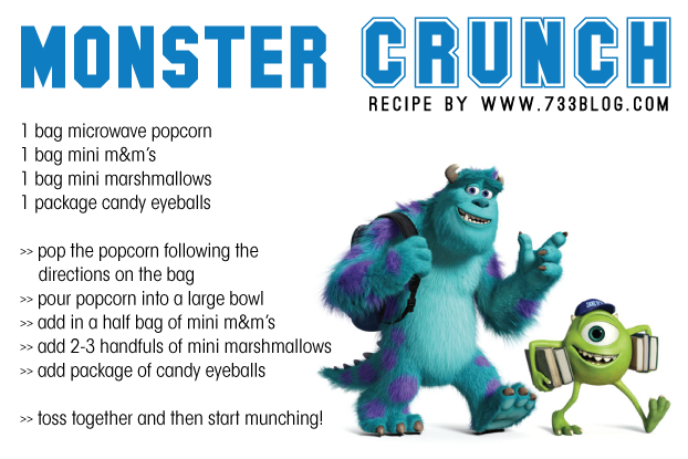 Monster Crunch Recipe
