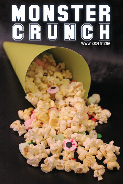 Monster Crunch Popcorn Recipe