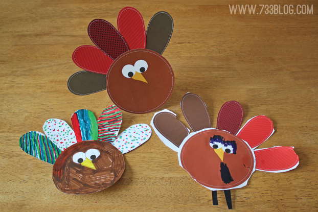 Turkey Printable Kids Craft