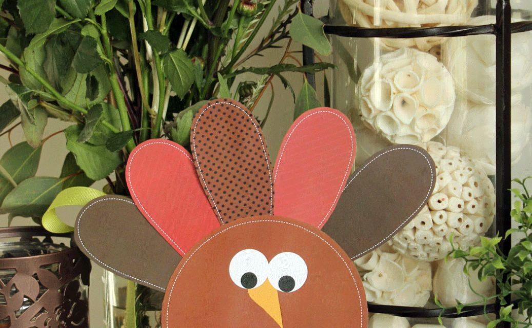 Thanksgiving Turkey Kids Craft with Free Printables