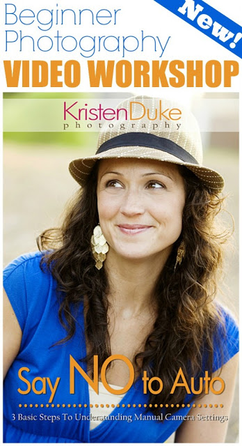 "Kristen Duke ""Say No to Auto"" Beginner Photography Video Workshop Review & Giveaway"